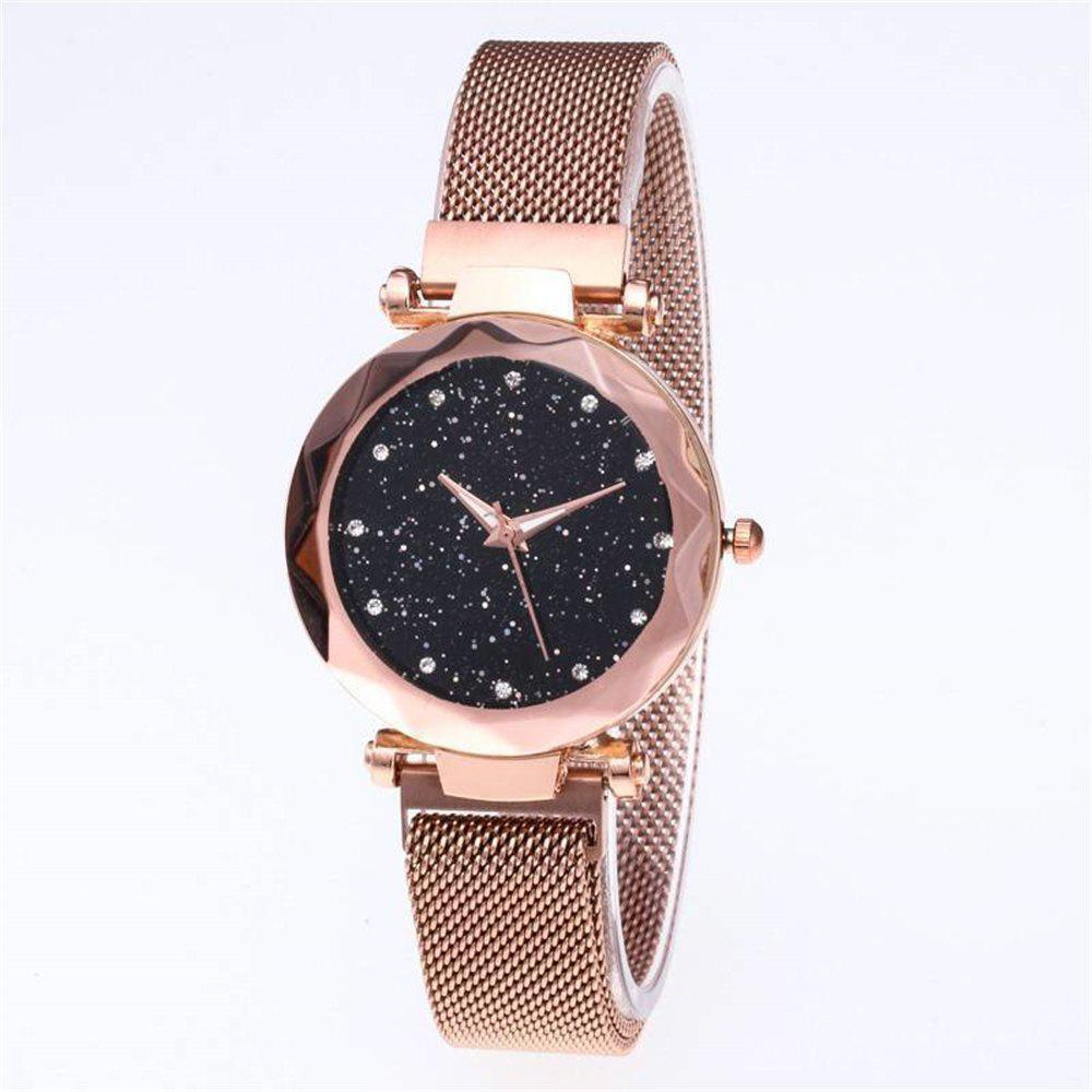 c4266dd58 Hot Starry Sky Watch Waterproof Magnet Strap Stainless Steel Women Gift