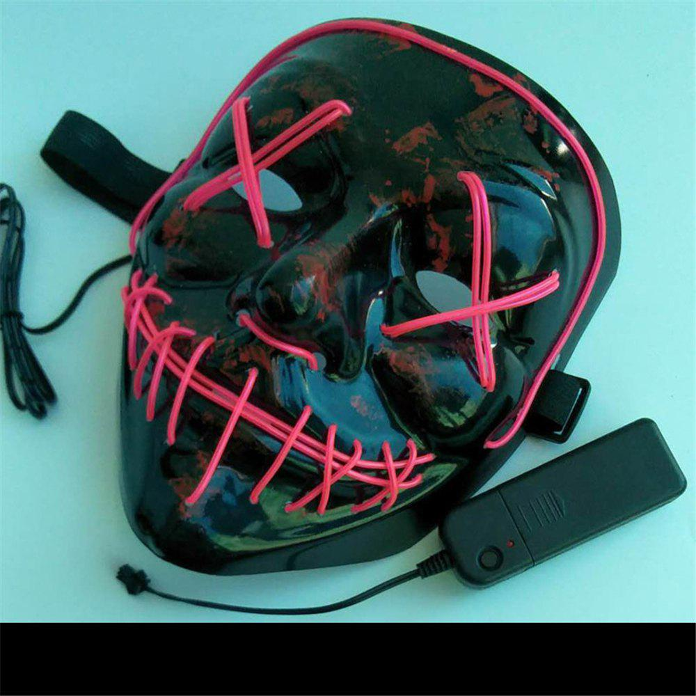 Shop Clubbing Light Up Stitches LED Mask Costume Halloween Rave Cosplay Party Purge
