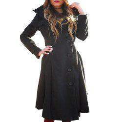 The New Dress Has An Irregular Bottom and Double-Sided Coat -