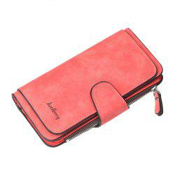 New Buckle Ladies Wallet Fashion Handbags Multi-Card Women'S Wallet -