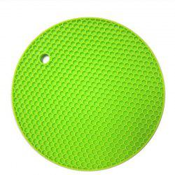 Изоляционные подушки Silica Gel Round Small Honeycomb Table Mat Bowl Pad Coaster Hea -