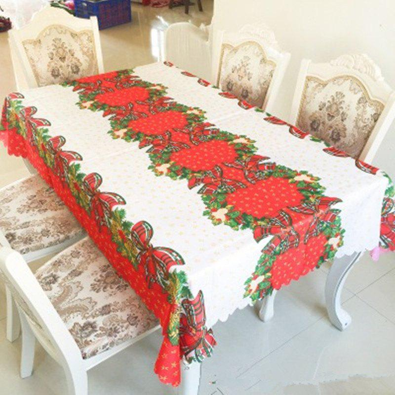 Unique Christmas Table Cloth Printed Tablecloth