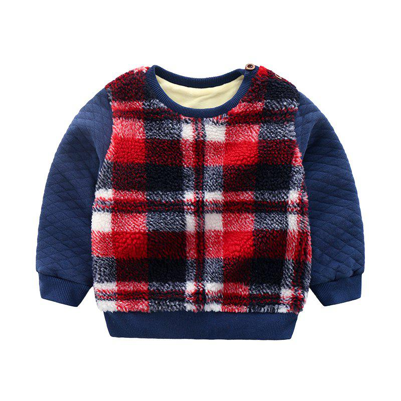 Fancy for Autumn and Winter Children'S Jacket with Thick Wool and Sweater