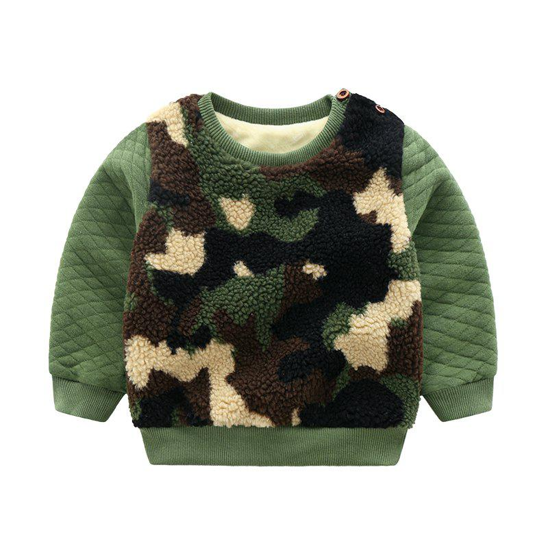 Discount for Autumn and Winter Children'S Jacket with Thick Wool and Sweater