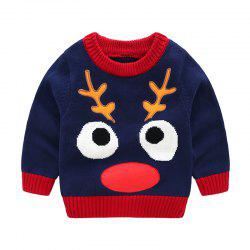 2018 New Children'S Sweater Spring and Autumn Pure Cotton Sweater Chi -