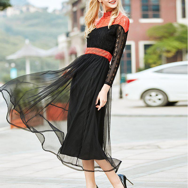 Shops Tennis Celebrities Temperament Lace Dress