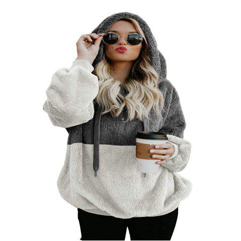 Rope Hooded Sweater Long Sleeved