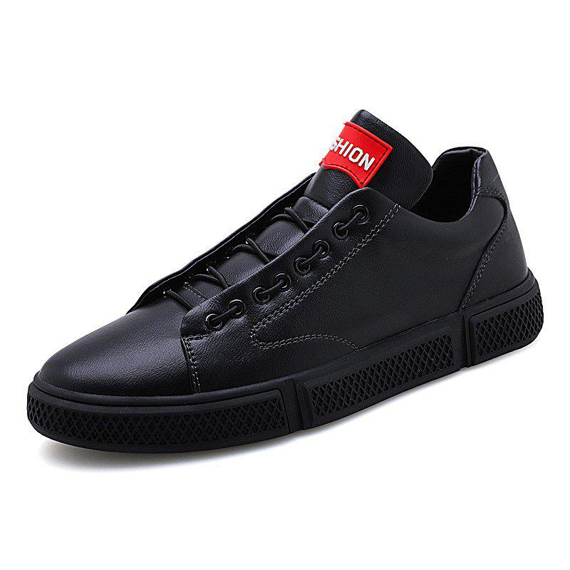 Shop Men Leather Wear Trend Classic Breathable Wild Skate Casual Shoes