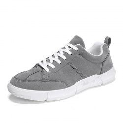 Men Trend Classic Thick-Soled Wear Simple Casual Skate Shoes -