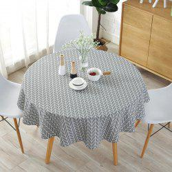 Round table cloth printed tablecloth -