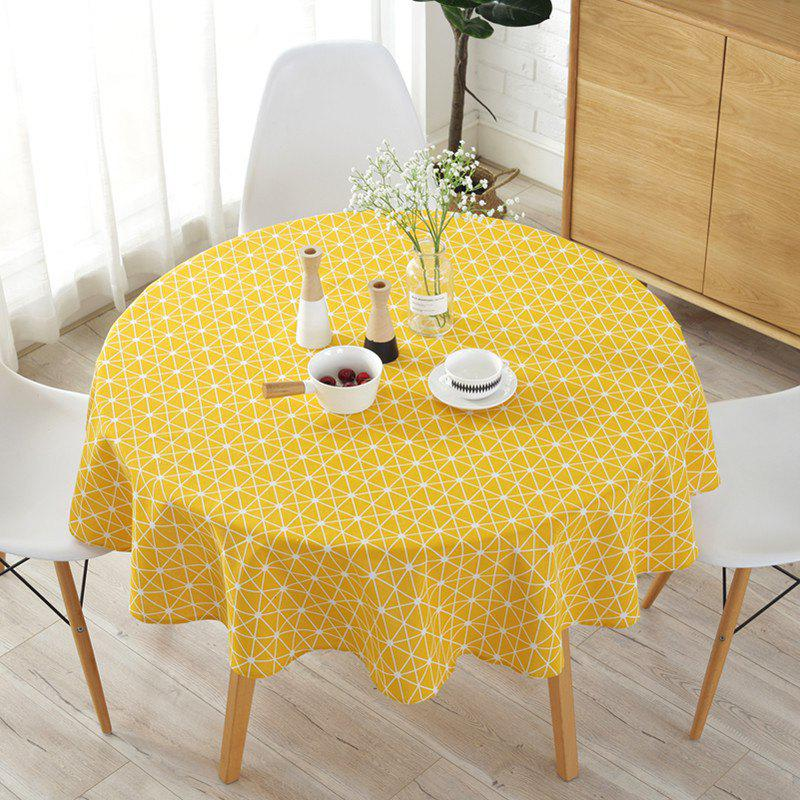 Outfit Round table cloth printed tablecloth