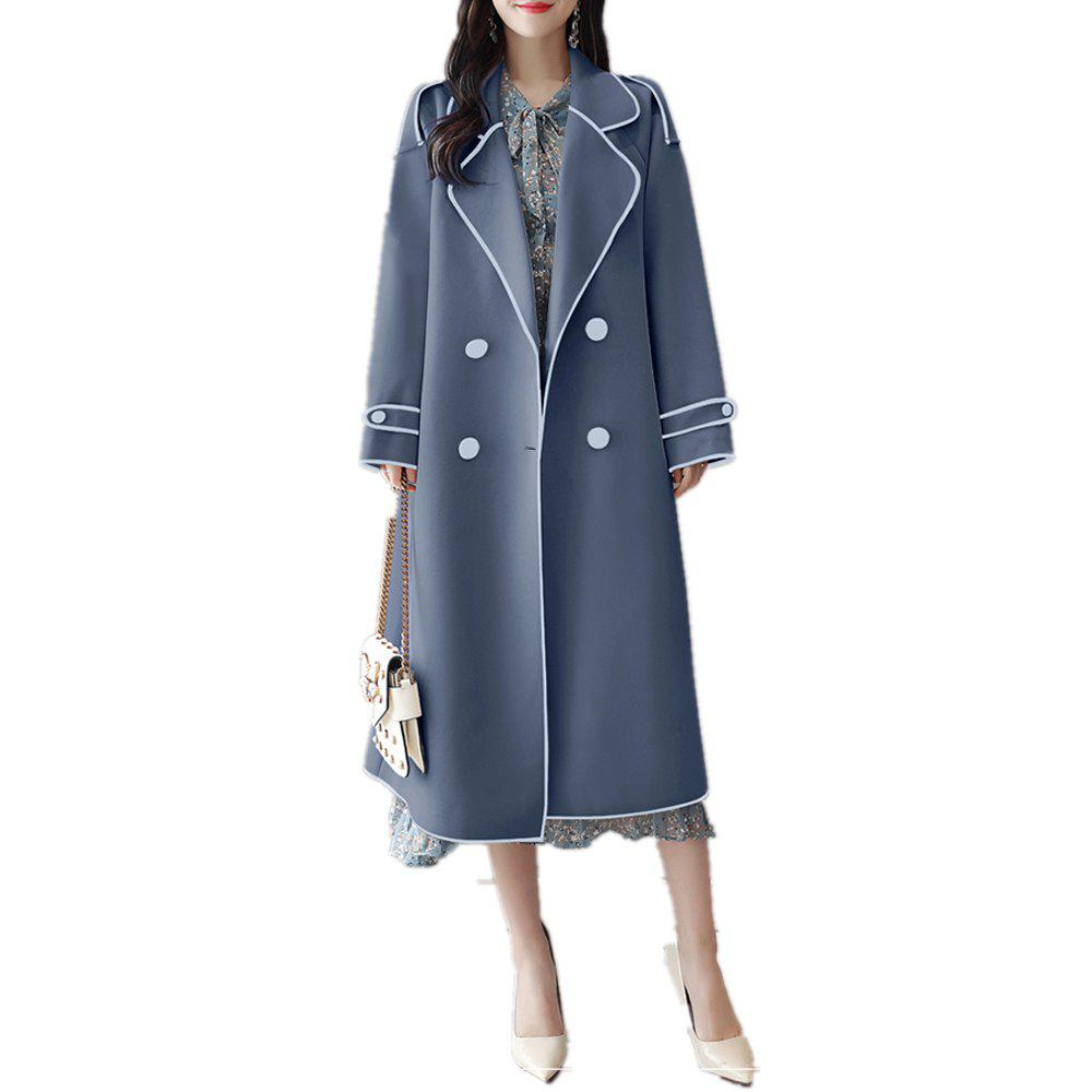 Outfits Long Casual Sleeve Loose for Trench Coat Women