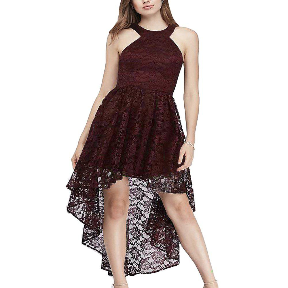 Cheap A Sexy Slim Dress with A Neck and Lace