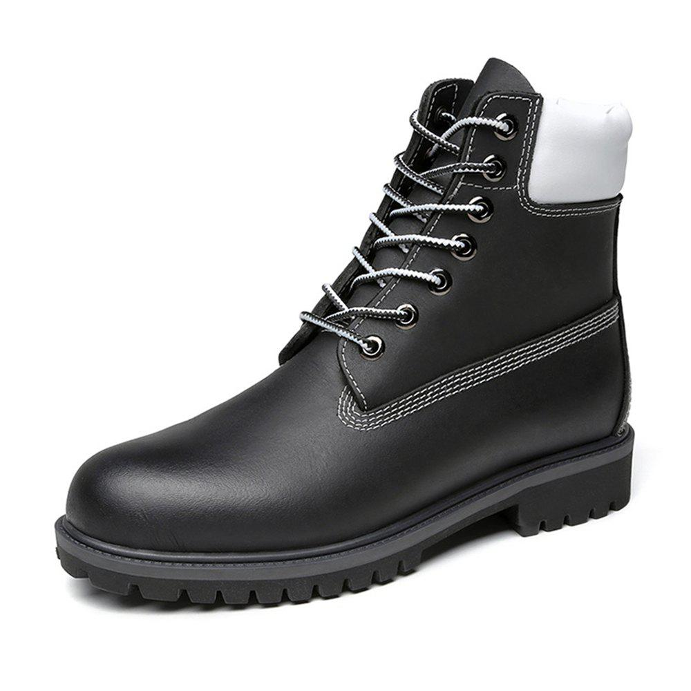 Chic High-top Fashion Boots for Man
