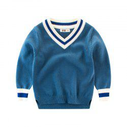 Solid Color Children's Wear Boys' Sweater -