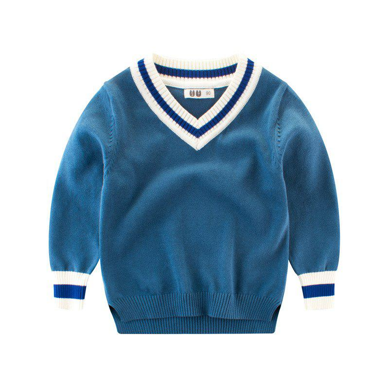 Hot Solid Color Children's Wear Boys' Sweater