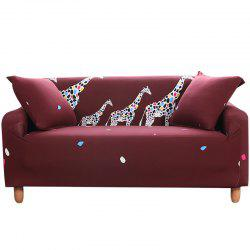 SKZJ Cartoon Printing Sofa Cover Double Seat -