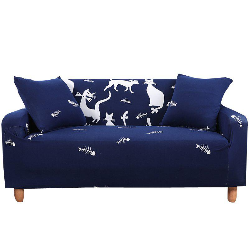 Online SSMM Cartoon Printing Sofa Cover Double Seat
