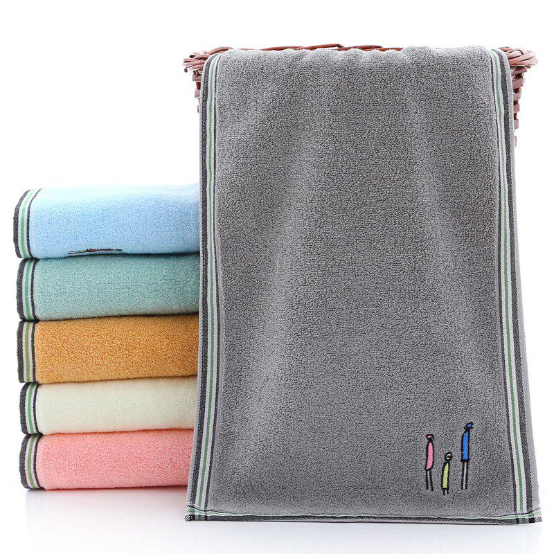 Fashion Cotton Towels Comfortable Wash Face Three Towels