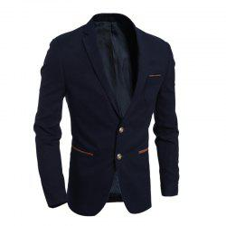 New Simple Fashion Men'S Casual Slim Suit Jacket -