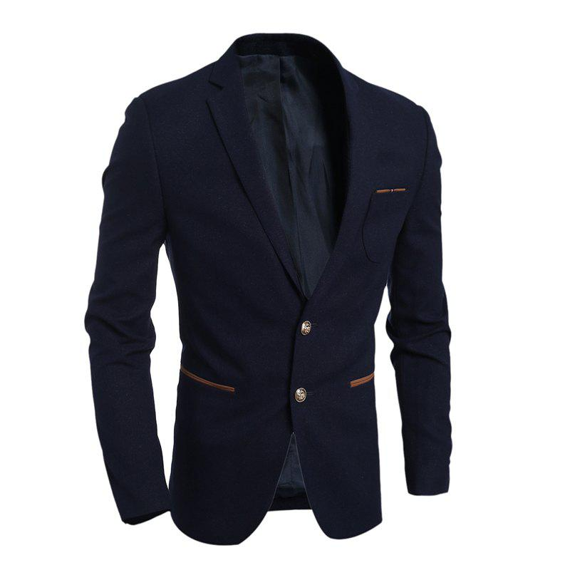 Best New Simple Fashion Men'S Casual Slim Suit Jacket