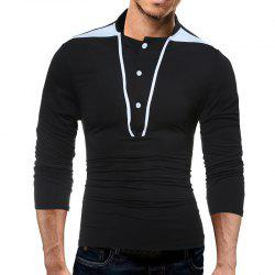 Fashion Body Mens Long Sleeves T-Shirt -