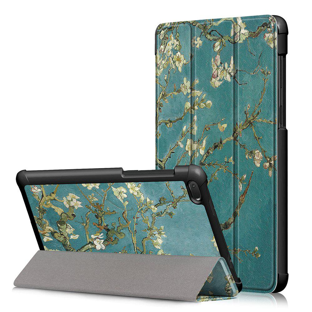Hot Y-Painted Three-Fold Leather Case for Lenovo Tab E7 TB-7104F