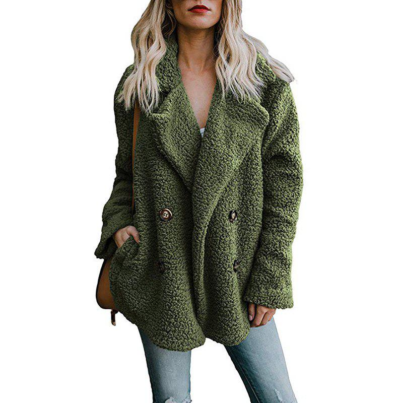 Outfits Women'S Wild Fashion Double-Faced Pile Fleeced Thickness Coat
