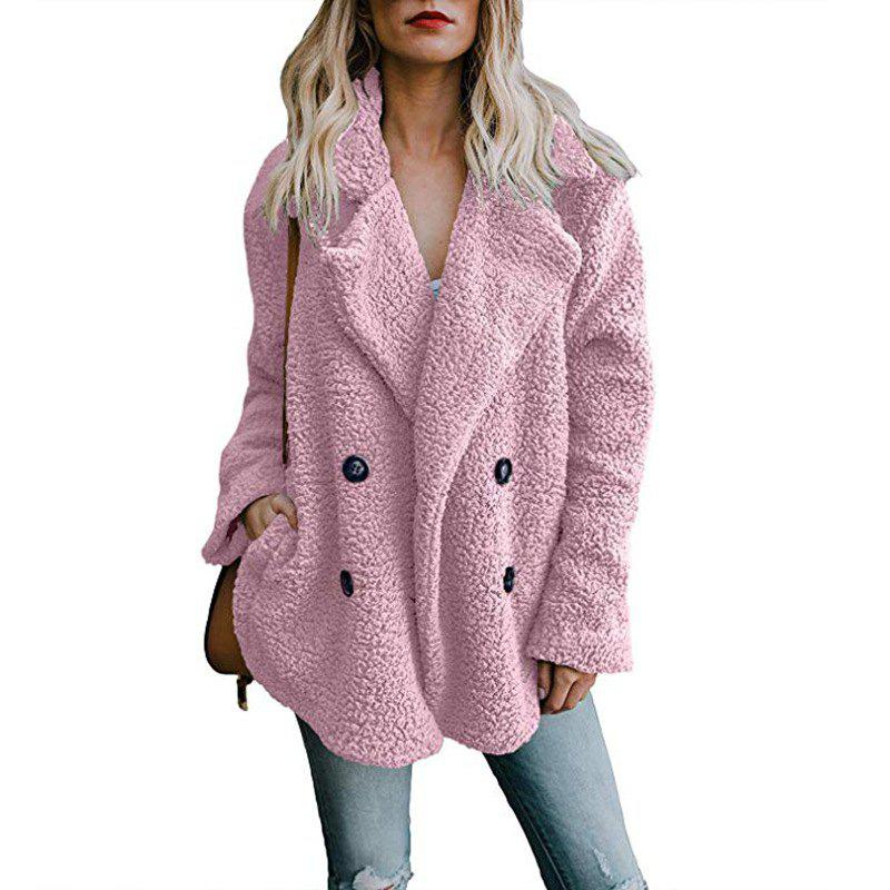 Store Women'S Wild Fashion Double-Faced Pile Fleeced Thickness Coat