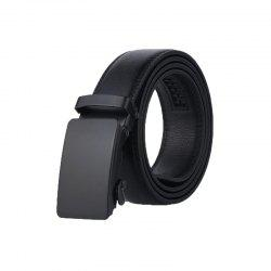 Men's Belt Personality All Match Black Automatic Belt Accessory -