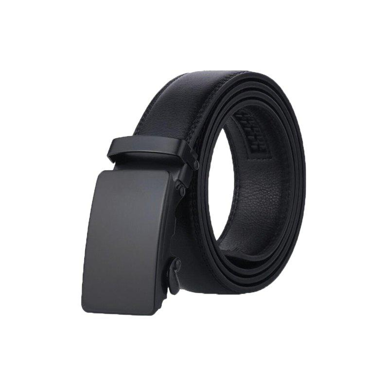 Store Men's Belt Personality All Match Black Automatic Belt Accessory