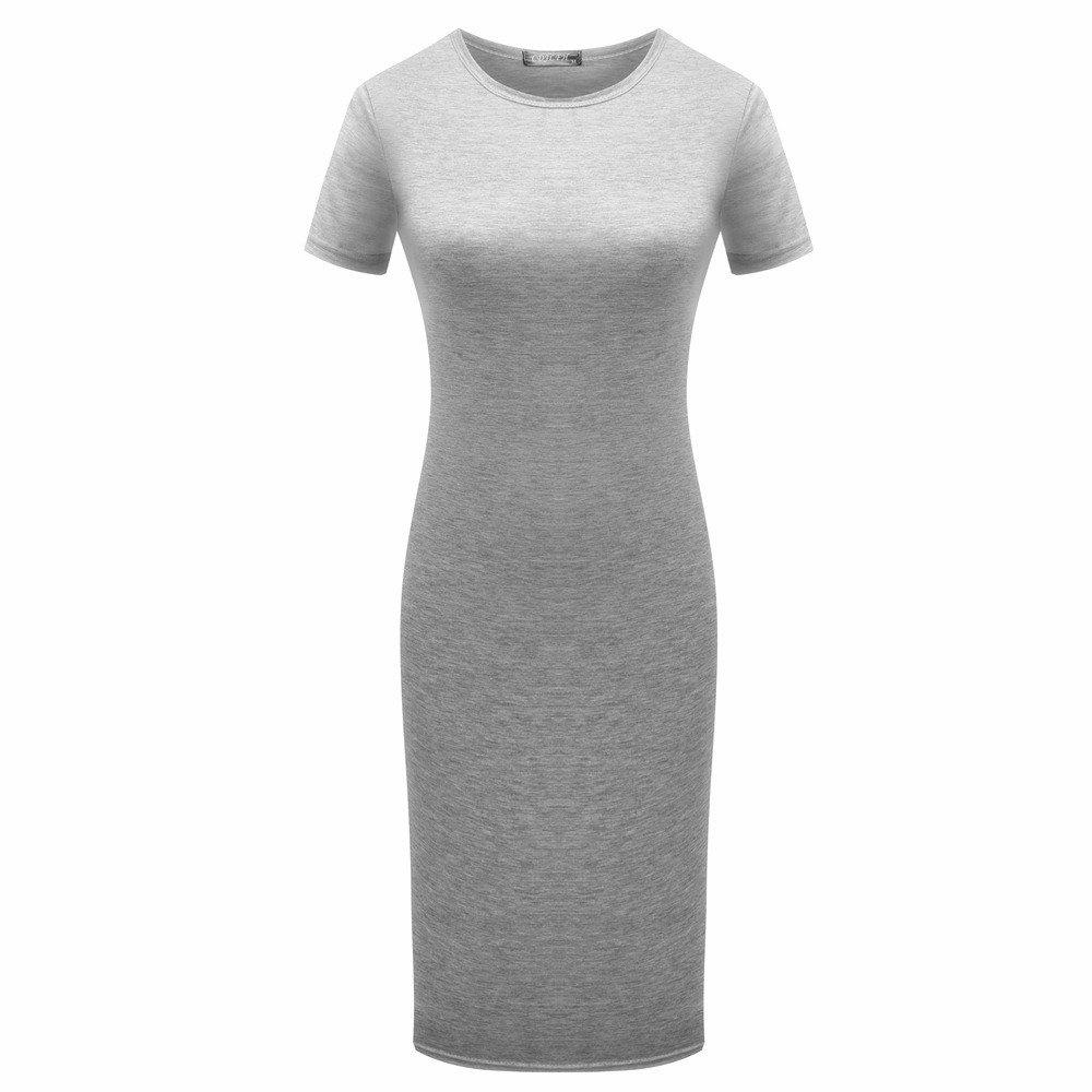 Fancy 2018 Women Sexy Slim Bandage Dresses Summer Office Ladies Casual Short Sleeve Pa