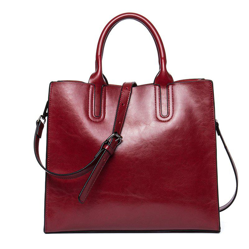 Latest Business and Leisure Women'S Bag Cowhide Lady Handbag