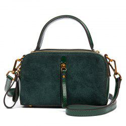 New Cowhide Lady Fashion Handbag Small Square -