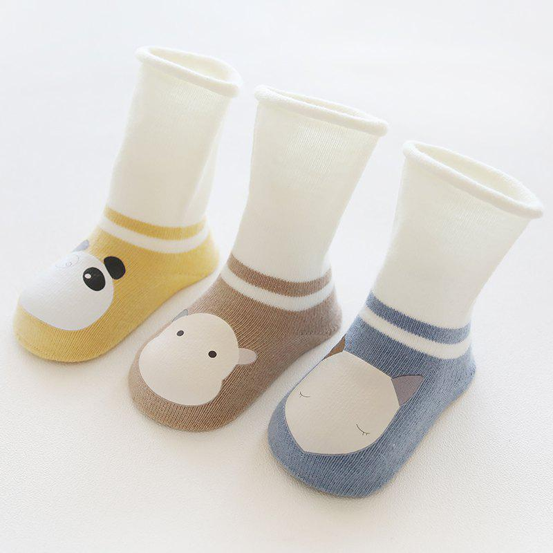 3 пары Unisex Baby Kids Носки для малышей Knee High Socks Baby Stocking