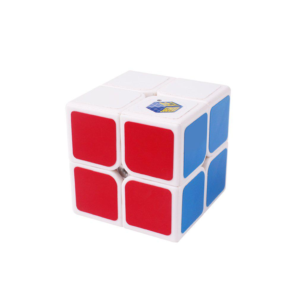 Yuxin Zhisheng Gold Unicorn 2X2X2 Jouets éducatifs Magic Cube Blanc