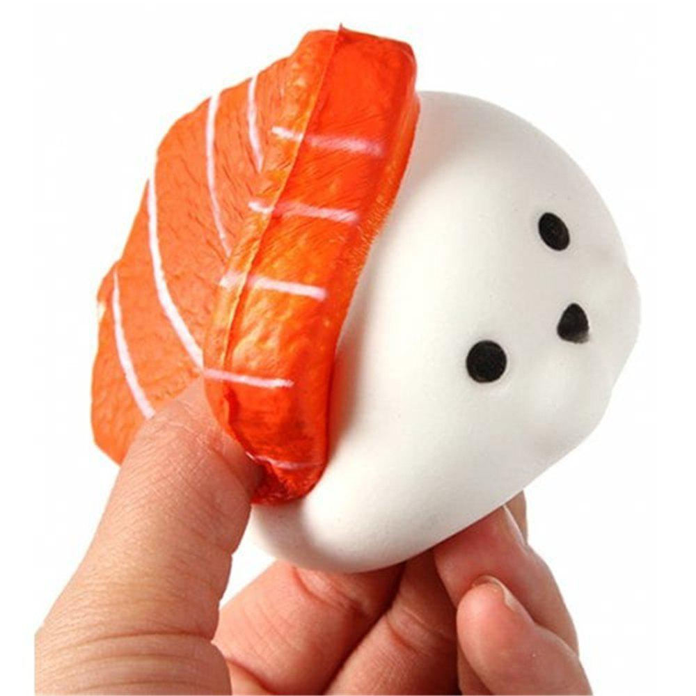 Shop PU Slow Rebound Simulated Sushi Squishy Toys
