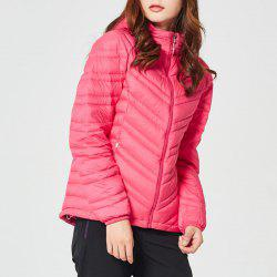 HUMTTO Women Down Jacket Ultra Light Hooded White Duck Down Water Repellent Coat -