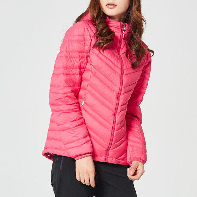 Fashion HUMTTO Women Down Jacket Ultra Light Hooded White Duck Down Water Repellent Coat