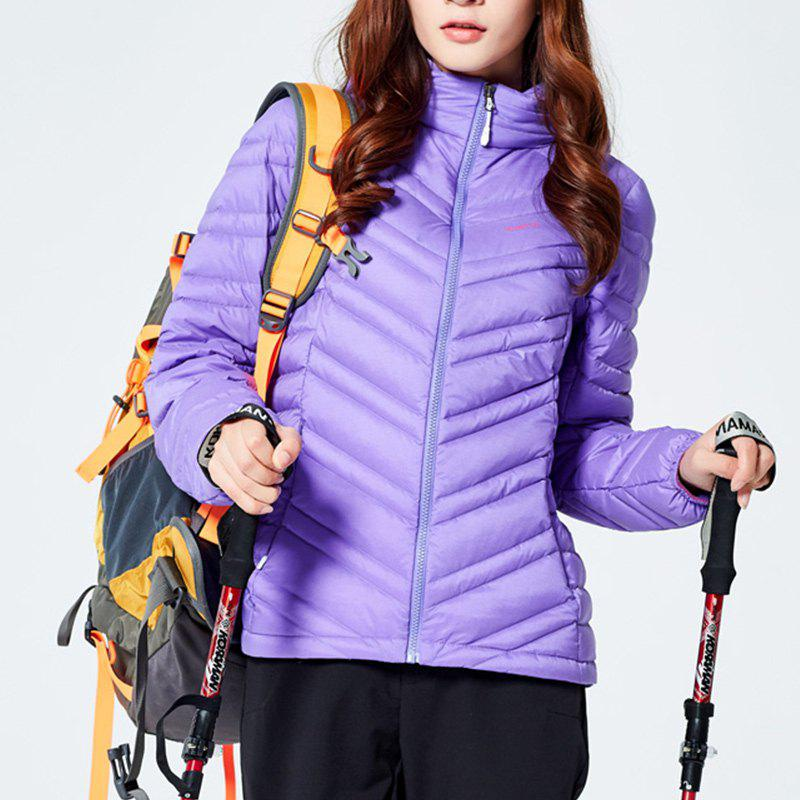 Store HUMTTO Women Down Jacket Ultra Light Hooded White Duck Down Water Repellent Coat