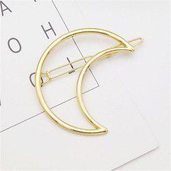 Simple Wind and Moon Style Hair Clip Fashion Hair Ornament -