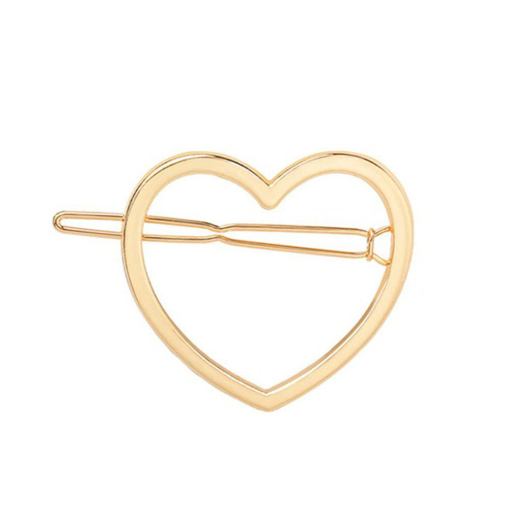 Latest Lady's Temperament Peach Shaped Alloy Hairpin