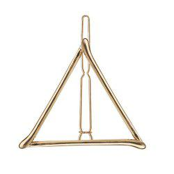 Ladies Fashion Hairdressing Triangle Shape Side Clip Alloy Hairpin -
