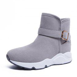 New Snow Boots With Thickened Plush -