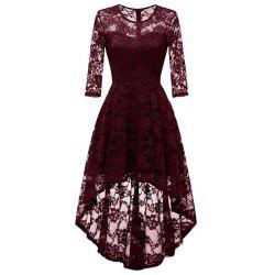 Women's Wear Cocktail Lace Dress -