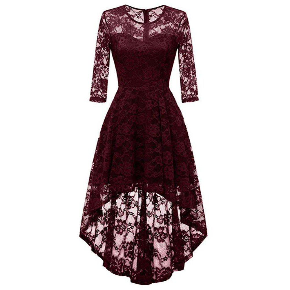 Fashion Women's Wear Cocktail Lace Dress