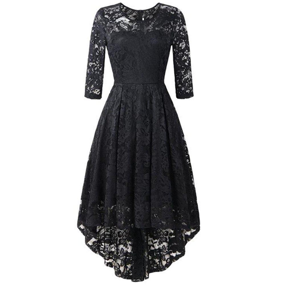 Latest Women's Wear Cocktail Lace Dress
