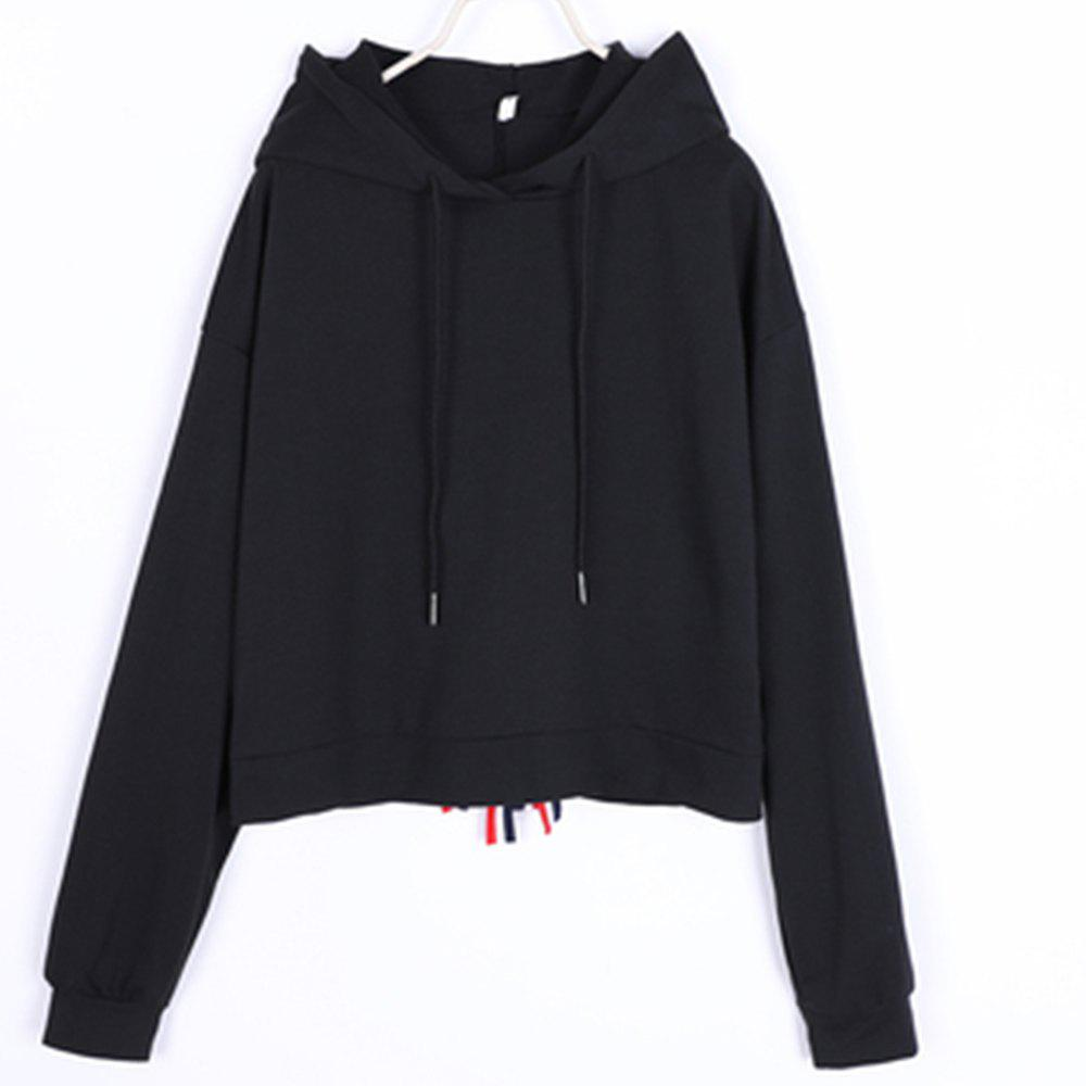 Unique New Colored Bow-Tie Embellished Hoodie