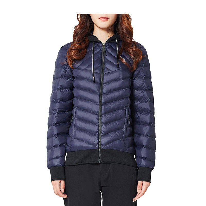 Fashion HUMTTO Women's Cotton Coat Outdoor Warm Slim Short Hooded Windproof Jacket