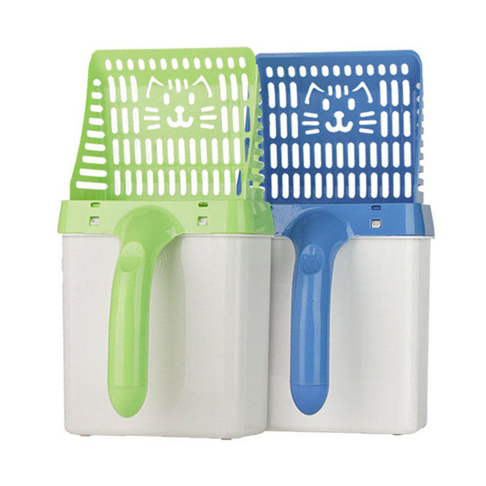 New Neater Scooper Cat Litter Sifter Scoop System Cleaning Shovel Tool for Pets